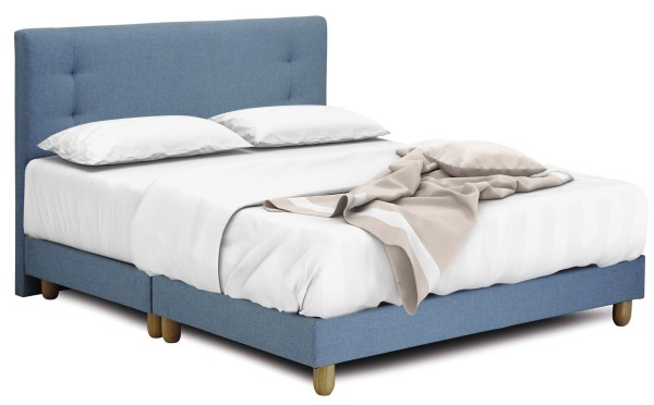 Solano Package: Solano Spring Mattress + Suri BedFrame