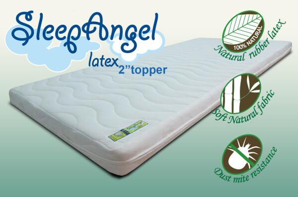 SleepAngel 2Inch Latex Topper
