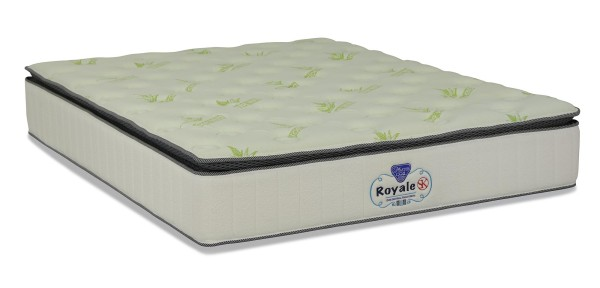 Royale Pocketed Spring Mattress With Foam Box