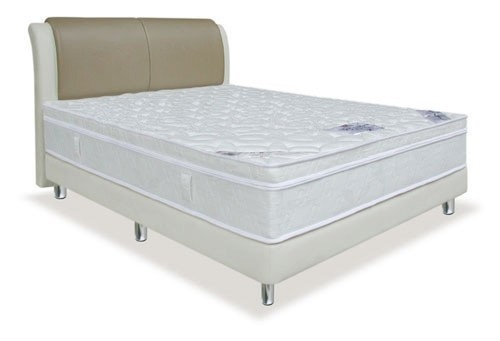 MaxCoil Synthetic Latex Pillow Top Mattress