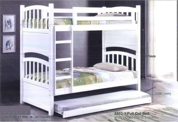 Valencia Double Decker Bed