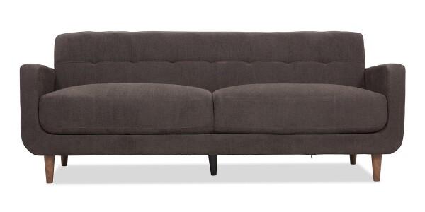 Breana 3-Seater Sofa (Bitter Chocolate)
