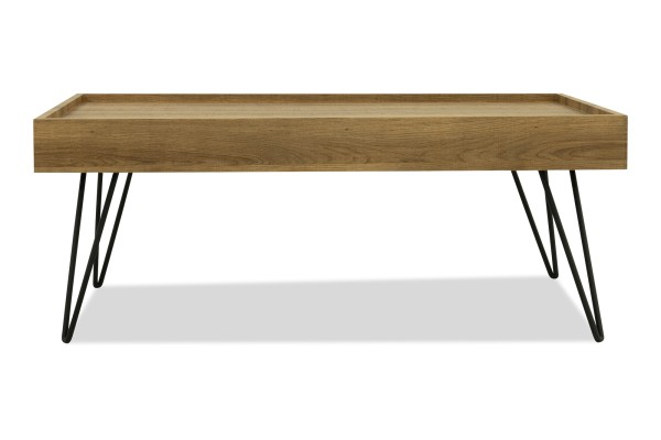 Harwood Coffee Table (Natural Wood)