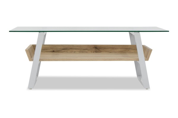 Sussi Tempered Glass Coffee Table (San Remo)