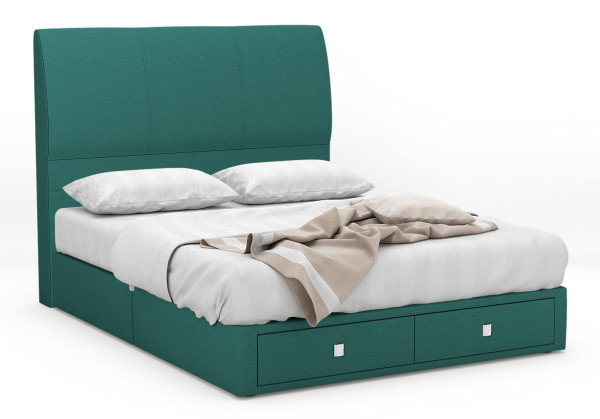 Noelle Fabric Drawer Bed Frame