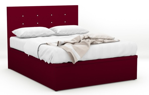 RayLight Fabric Storage Bed