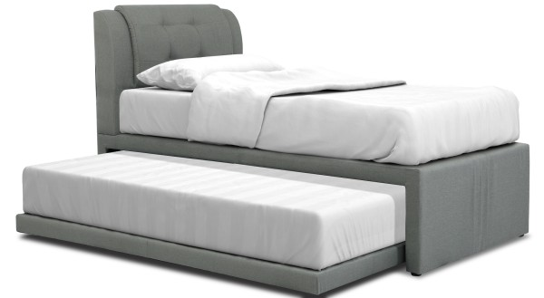 Neak 2in1 Bedframe with Pullout Roller Bed + Hybrid Foam Mattress Bedset Package