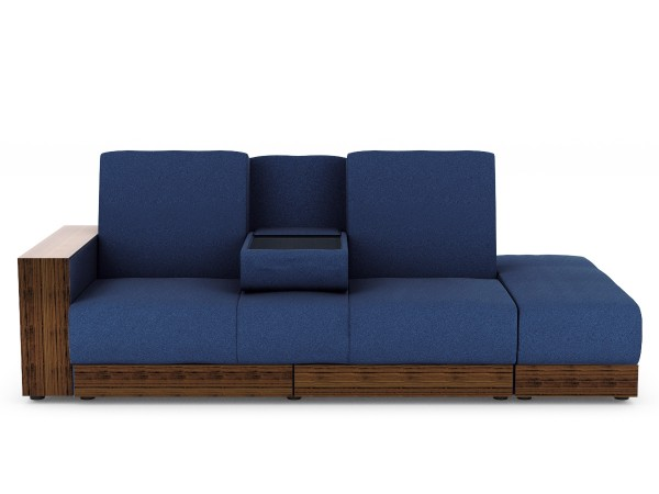 Sarai Storage Sofa Bed in Fabric | Furniture & Home Décor | FortyTwo