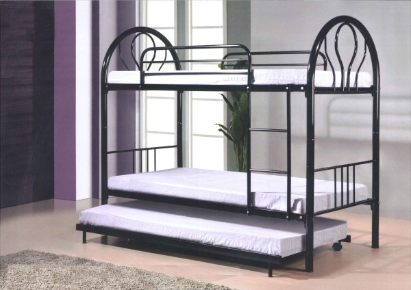 Embun Double Deck Metal Bed