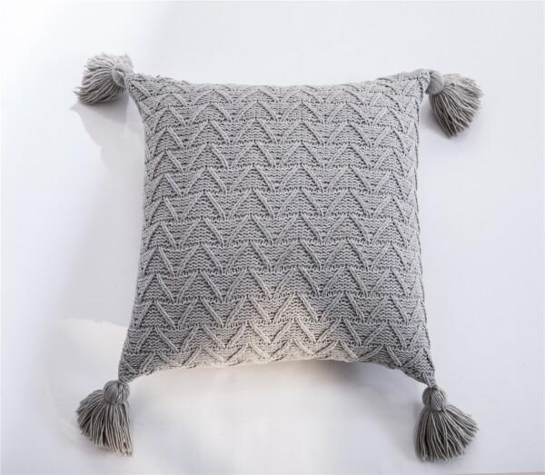 Amey Cushion (Light Grey)
