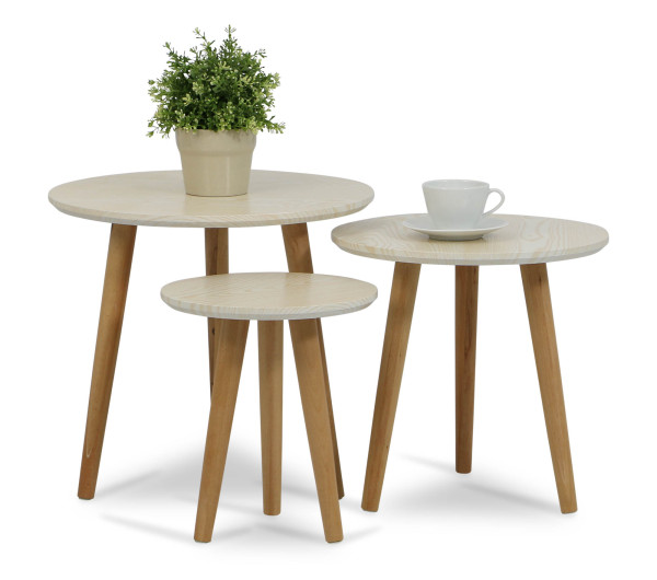 Eaimor Coffee Table Set Beech Furniture Home D Cor Fortytwo