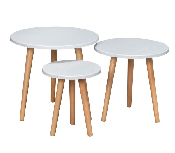 Eaimor Coffee Table Set Beech