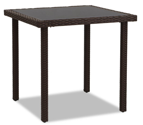 Akala Outdoor Dining Table(Brown)