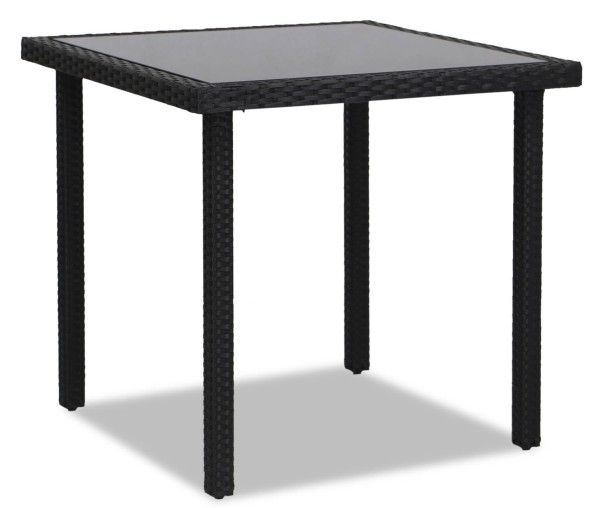 Akala Outdoor Dining Table (Black)