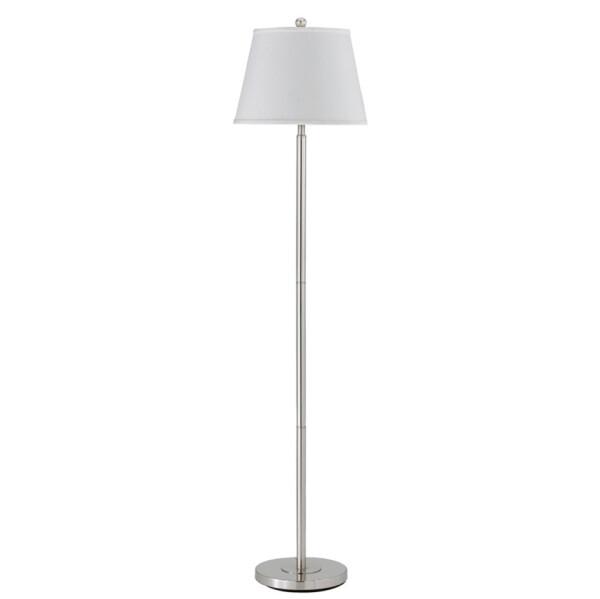 Cal Lighting BO-2077FL-BS Brushed Steel Floor Lamp
