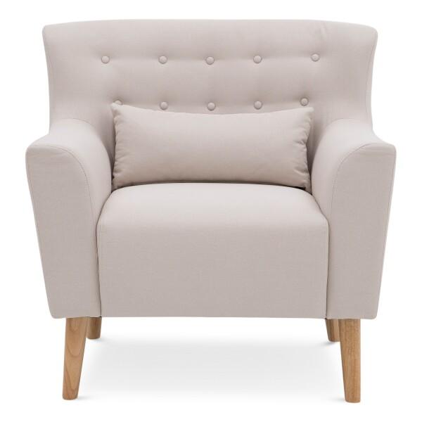 Delvin Armchair (Beige)