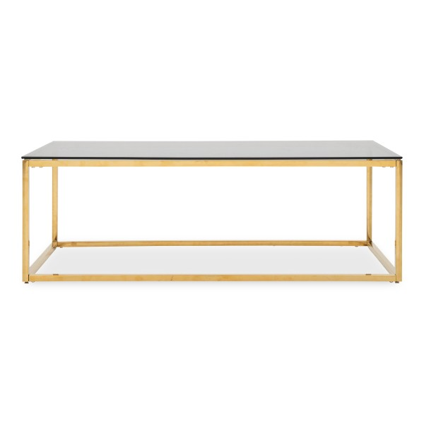 Opal Coffee Table with Gold Legs