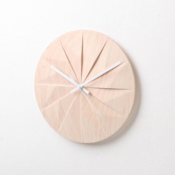 Shady: Wall Clock (Maple) by Pana Objects