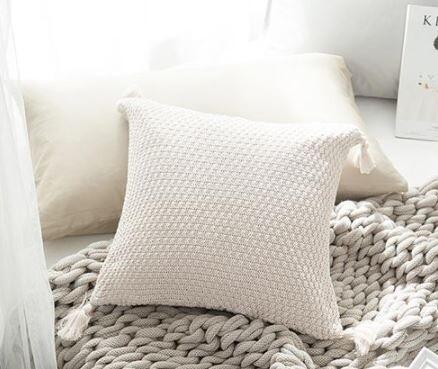 Amey II Cushion (Cream)