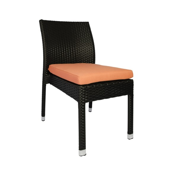 Casa Chair Orange Cushion