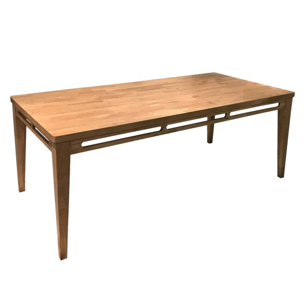 Philos - Pleat Solid Oakwood Dining Table