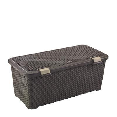 Style Box 72L Dark Brown