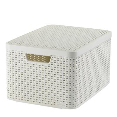 Style Box L V2 + Lid White