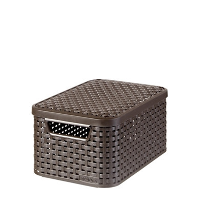 Style Box S V2 + Lid Dark Brown