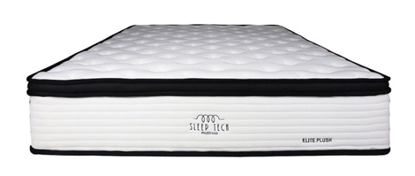 Elite Plush Pocketed Spring King Size Mattress by Sleep Tech™