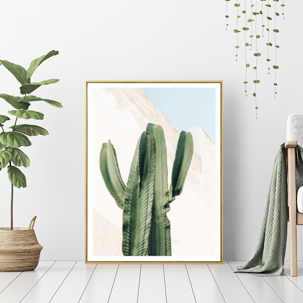 Faraway Place - Wall Art Print with Frame