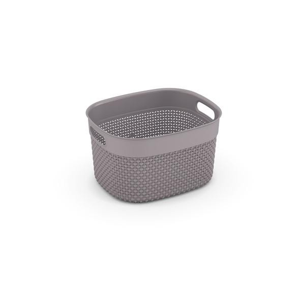 Filo Basket S W/Lid (Colonial Taupe)