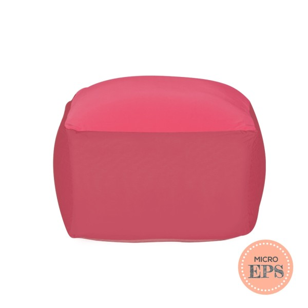 Flexa spandex bean bag by SG Beans (Pink, Micro EPS beans filling)