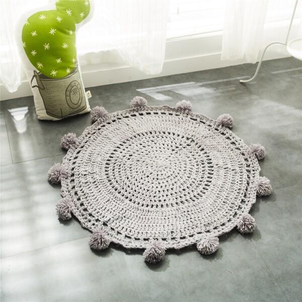 Delcy Floor Mat (Grey)