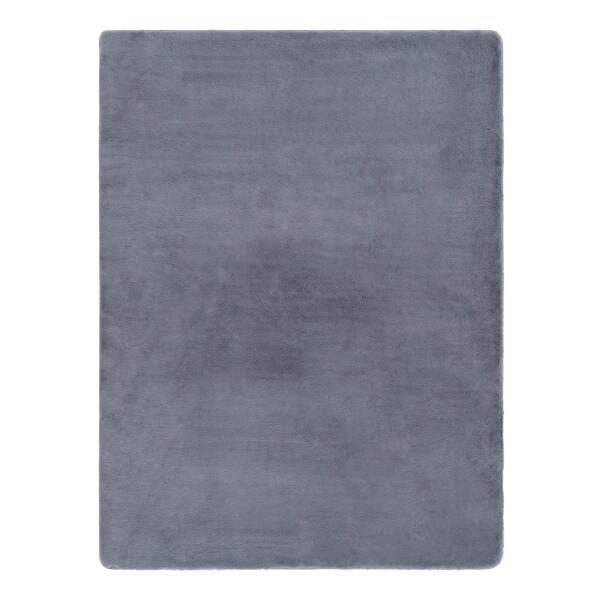 Coella Faux Fur Carpet (Grey)