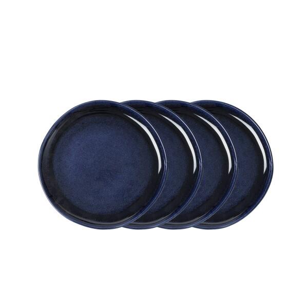 Jaiden Salad Plate - Blue (Set of 4)