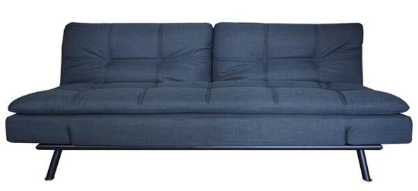 Jones 2.5 Seater Sofa Bed in Grey
