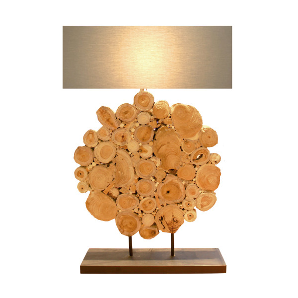Table Lamp D - Wood