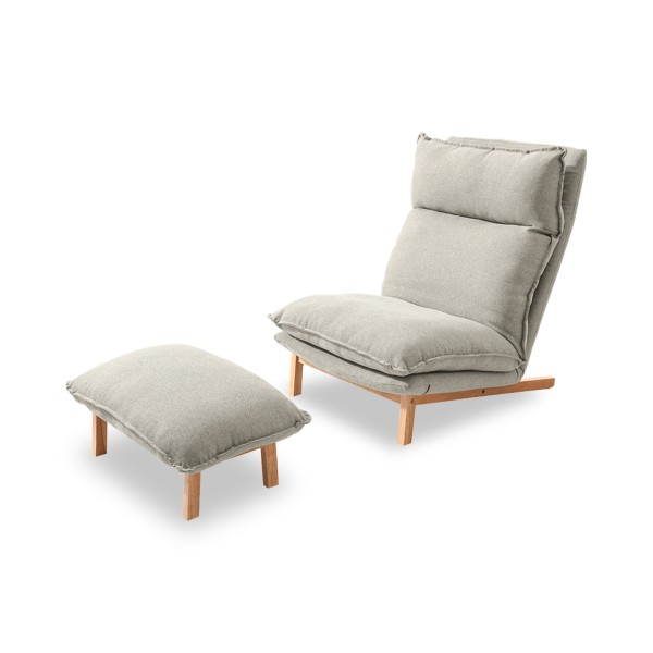 Yohann Lounge Chair (Grey)