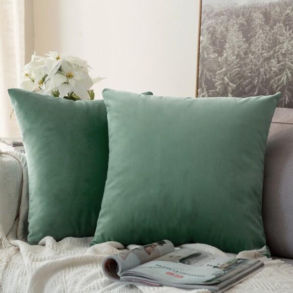 Edyth Cushion (Mint)