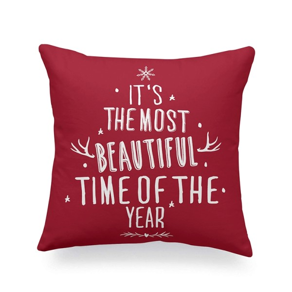 Yule IV Quote Cushion