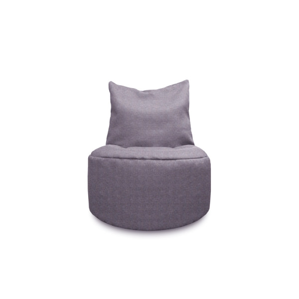 Mee Bean bag - Grey / Lt Purple