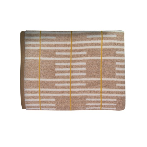 MH Enzo Jacquard Bath Towel (Brown)