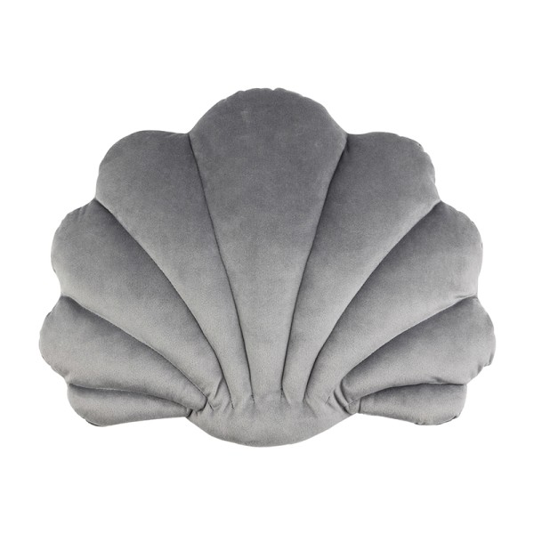 Avis Scallop Cushion (Grey)