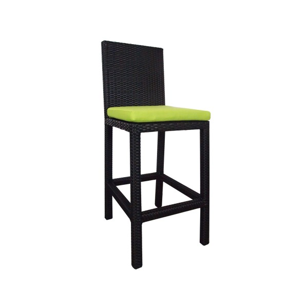 Midas Bar Chair Green