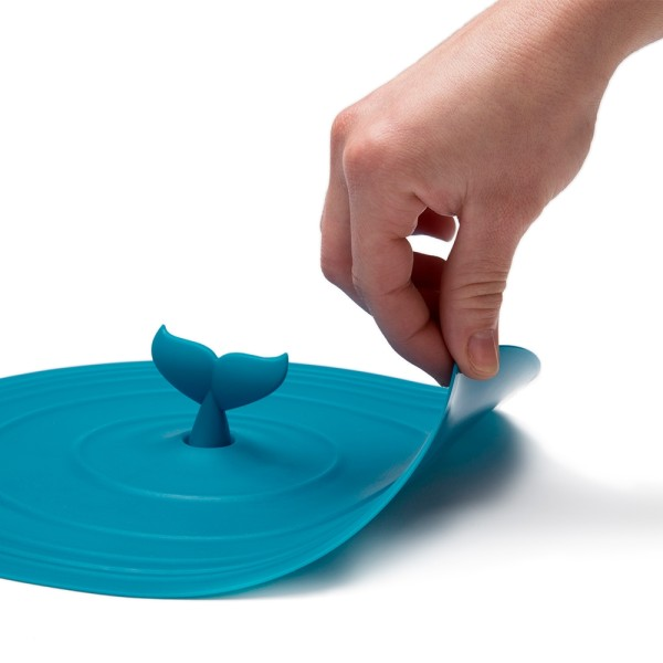 Moby Lid Silicone Lid by Peleg