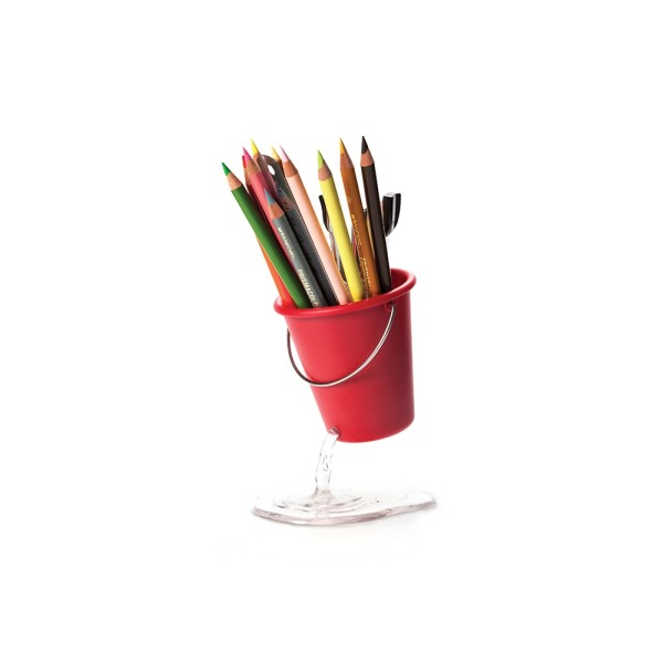 Desk Bucket Floating Container (Red) by Peleg