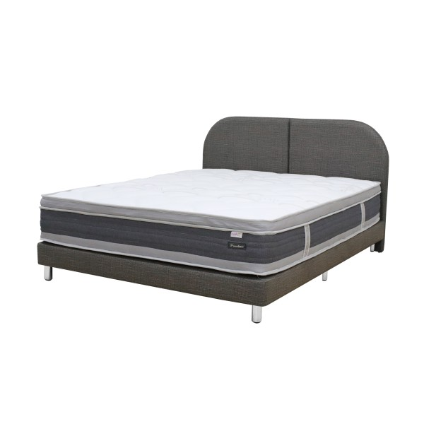 Dreamster Package: Providence 5 Zone Individual Pocketed Spring Mattress + Bedframe