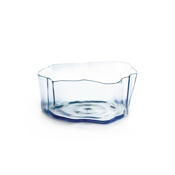 Crystal Flow Bowl (Clear) by Qualy