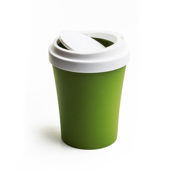 Mini Coffee Bin (Green) By Qualy
