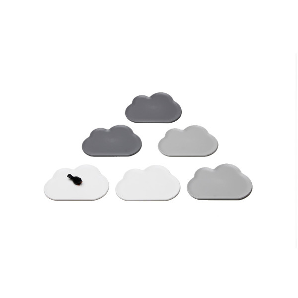 Cloud Coaster Set (Assorted) by Qualy